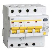 Дифференциальный автоматический выключатель IEK АД14 4Р 25А 100мА