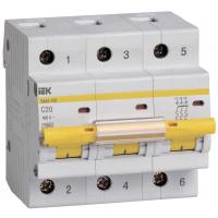 Выключатель автоматический IEK ВА47-100 3Р 32А 10кА С