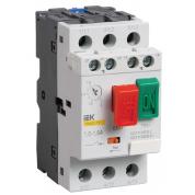 Пускатель ручной кнопочный IEK ПРК32-1,6 In=1,6A Ir=1-1,6A 660В