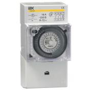 Таймер ТЭМ181 аналоговый IEK 16А 230В на DIN-рейку