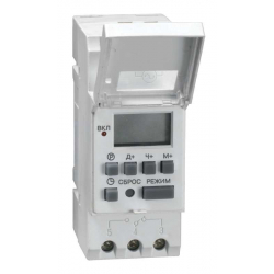 Таймер IEK ТЭ15 цифровой 16А 230В на DIN-рейку