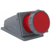 Розетка стационарная IEK ССИ-134 63А-6ч/380-415В 3Р+РЕ IP67 MAGNUM