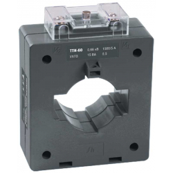 Трансформатор тока IEK ТТИ-60 800/5А 10ВА класс 0,5