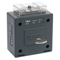 Трансформатор тока IEK ТТИ-А 150/5А 5ВА класс 0,5
