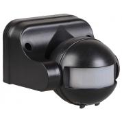Датчик движения IEK ДД-009 1100Вт 180град 12м IP44 черный