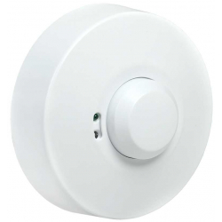 Датчик движения IEK ДД-МВ101 1200Вт 360град 8м IP20 белый