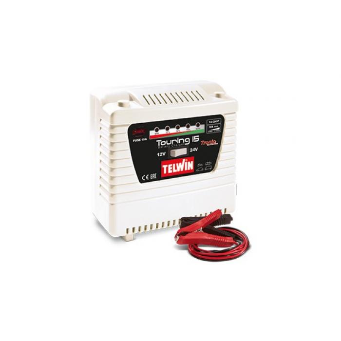 Зарядное устройство Telwin TOURING 15 230V 12-24V