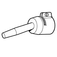 Стандартная насадка Leister Ø 5 мм, насаживаемая