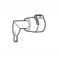 Угловой щелевой адаптер Leister 20 мм, 90° для сварки внахлест