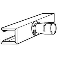 Рефлекторная насадка П-образная Leister 25 х 150 мм для равномерной усадки трубок из ПВХ и ПЭ, насаживаемая