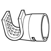 Решетчатая рефлекторная насадка для усадки 50 х 35 мм, насаживается на стандартную насадку Leister Ø 5 мм