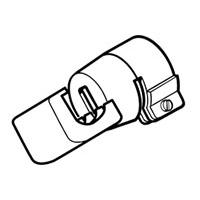 Ложковая рефлекторная насадка Leister 17 х 34 мм, насаживаемая