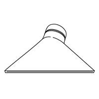 Широкая щелевая насадка Leister 150 х 12 мм