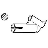 Насадка быстрой сварки для профильного прутка Leister Ø 3 мм