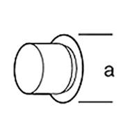 Фланцевая насадка Leister, насаживается, а = 40 мм