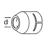 Круглая насадка Leister Ø 40 мм, насаживается