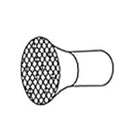 Решетчатая рефлекторная насадка-душ Leister, насаживается ( a x b ), Ø 150 мм
