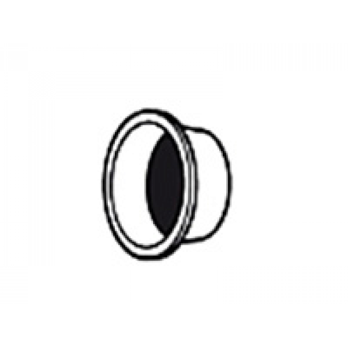 Заглушка Leister Ø 60 мм, насаживается на переходник 107.238 и 107.278