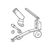 Комплект для сварки гидрошпонки Leister 151.530