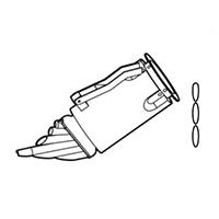 Насадка для сварки напольных покрытий Leister, специально для ПВХ