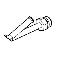 Насадка быстрой сварки для профильного прутка Leister Ø 4, навинчиваемая, для фторопластов