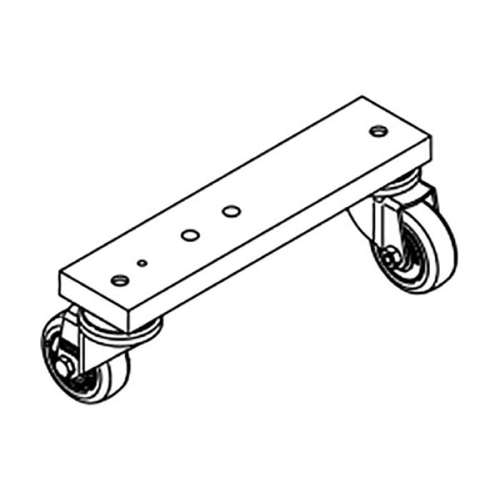 Подвижная опорная система Leister 220 мм для сварки по кругу для UNIROOF AT / ST