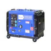 Дизельный сварочный генератор в кожухе ТСС PRO DGW 3.0/250ES-R