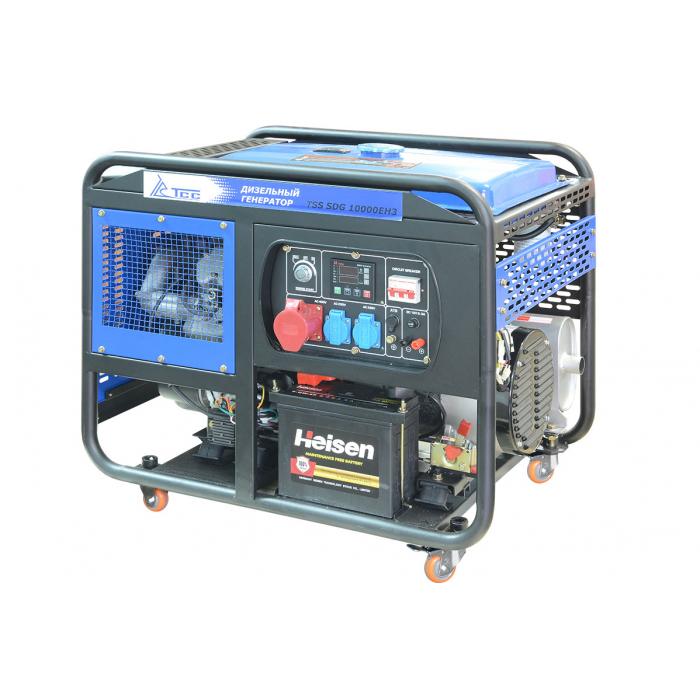 Дизельный генератор ТСС SDG 10000EH3A с АВР