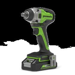 Гайковерт ударный бесщеточный аккумуляторный 24V GREENWORKS GD24IW400