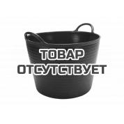 Корзина пластиковая чёрная RUBI № 3 (40 л)