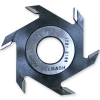 Фреза пазовая БЕЛМАШ 125х32х8 мм с переходными кольцами (4 мм, 2шт)