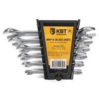 Набор гаечных рожковых ключей КВТ НКР-6 (8-22)