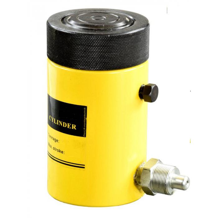 Домкрат гидравлический TOR HHYG-20050LS (ДГ200П50Г), 200т с фиксирующей гайкой