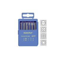 Комплект из 6-ти отв. вставок (бит) L=73 мм ( Tx10 / Tx15 / Tx20 / Tx25 / Tx30 / Tx40 ) KLAUKE KL335