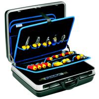 Набор из 25 проф. монтажных инструментов в инструментальном чемодане KLAUKE KL860BM