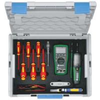 Набор инструментов электромонтажника в кейсе L-BOXX KLAUKE LBOXXKLB18