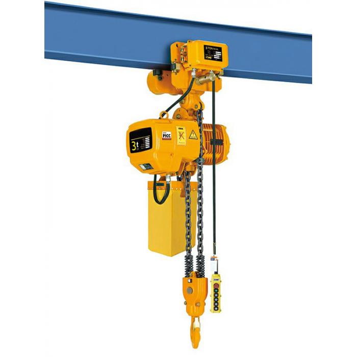 Таль электрическая цепная TOR ТЭЦП (HHBD03-01T) 3,0 т 24 м 380В