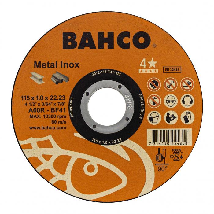 Высокопроизводительная дисковая пила Bahco 3911-125-T41-IM