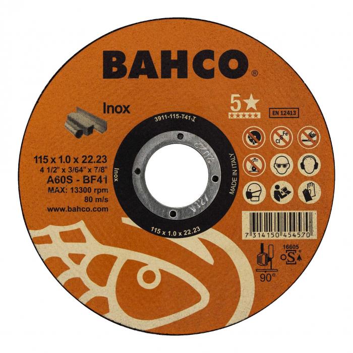 Высокопроизводительная дисковая пила Bahco 3911-180-T41-I