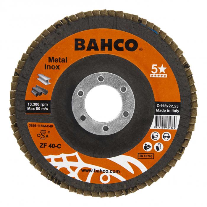 Диск конического типа для шлифования Bahco 3926-125IM-C40