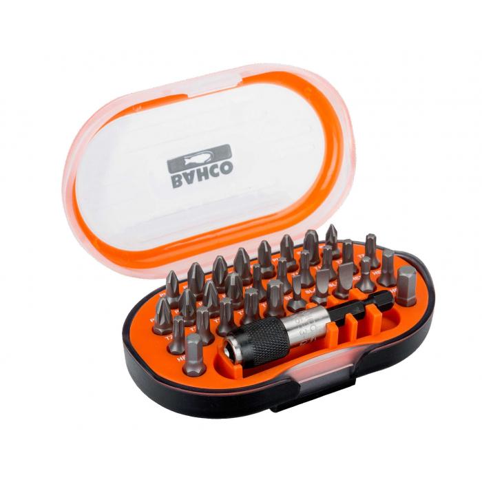 Набор стандартных бит для отверток с держателем бит Bahco 59S/31-1