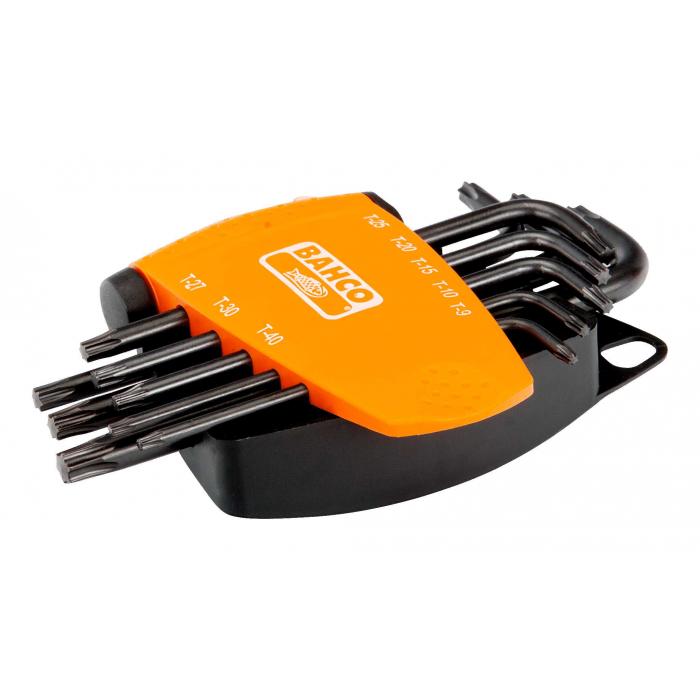 Набор оксидированных ключей под винты TORX Bahco BE-9575