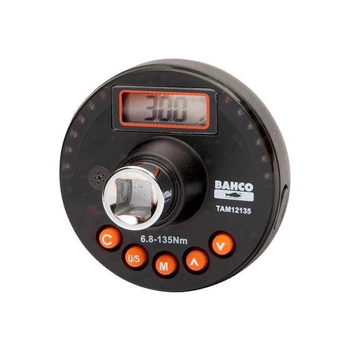 Электронный динамометрический угломер Bahco TAM12200