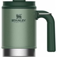 Термокружка походная STANLEY Classic 0.47L, Зеленый