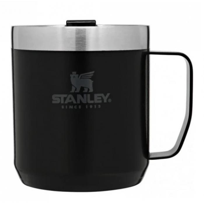 Термокружка с ручкой STANLEY Classic 0.35L, Черный