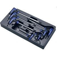 Комплект L-образных ключей TORX Hans в ложементе TT-19
