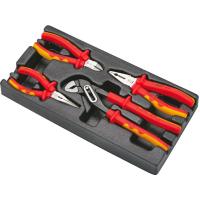 Набор губцевого инструмента Hans для электрика в ложементе TT-27