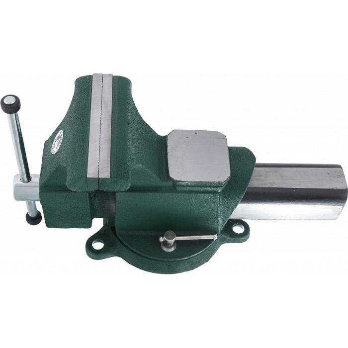 Тиски верстачные с наковальней 150 мм Hans 5411-06