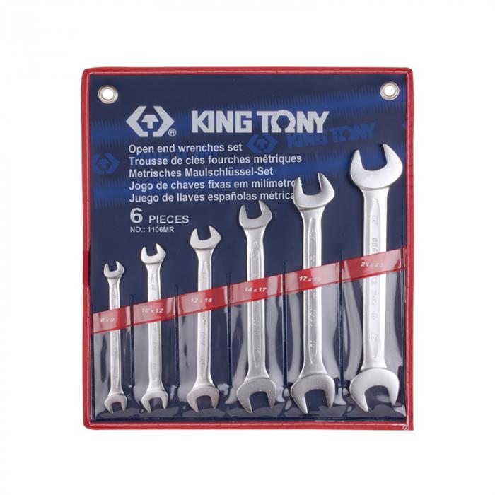Набор ключей KING TONY 1106MR