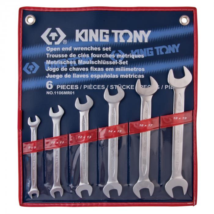 Набор ключей KING TONY 1106MR01